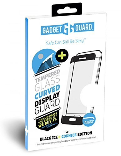 Gadget Guard Apple iPhone X (BLACK ICE PLUS) Insured Curved Tempered Glass Screen Protector Screen Protector