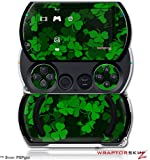 St Patricks Clover Confetti - Decal Style Skins (fits Sony PSPgo)