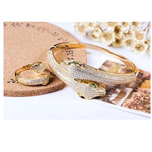 Whiteswallow Alloy Crystal Snake Bracelet Jewelry for Women with - Tiffany Where To Buy