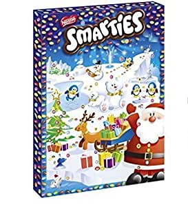 smarties advent calendar chocolate 140g 4. Black Bedroom Furniture Sets. Home Design Ideas