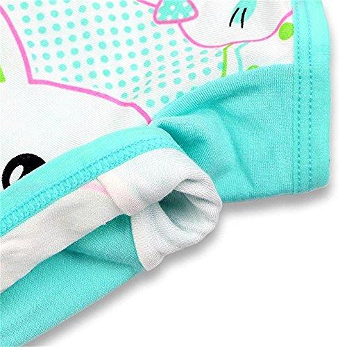 BOOPH Girls Boyshort Hipster Panties Kids Underwear 10 of Pack 3-10t by BOOPH (Image #3)