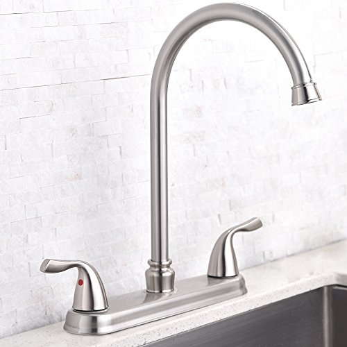 three hole faucet kitchen - 2