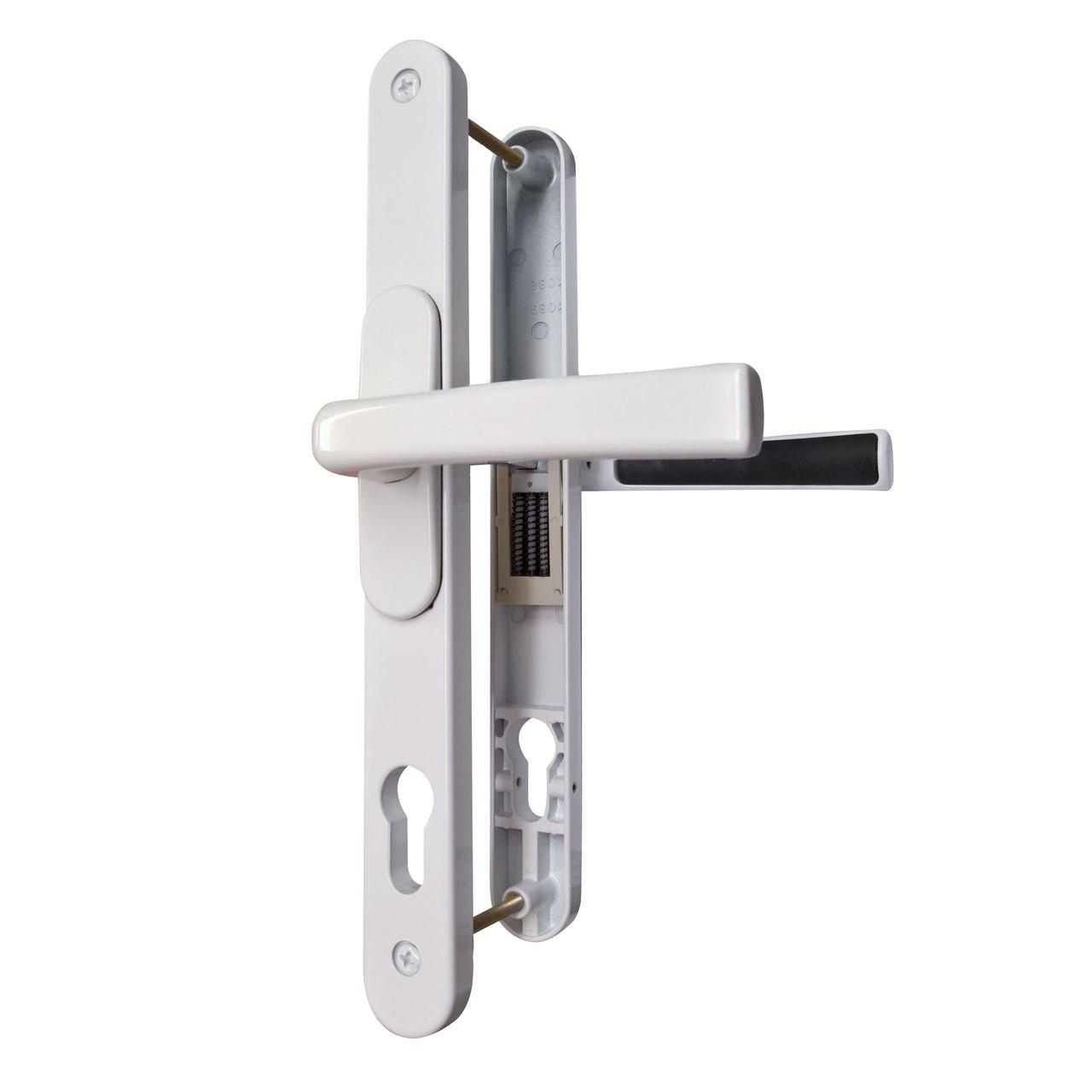 VERSA Universal uPVC Door Handles. Adjustable PZ (Polished Chrome)
