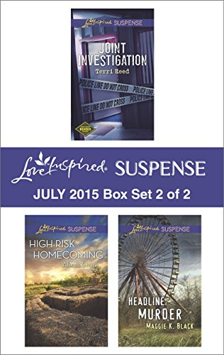 book cover of Love Inspired Suspense July 2015 Box Set 2 of 2