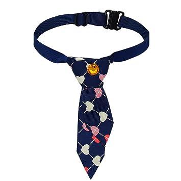 Corbatas Pajaritas Ajustables de Mascotas Perros Gatos Collar Pequeños Accesorios: Amazon.es: Productos para mascotas