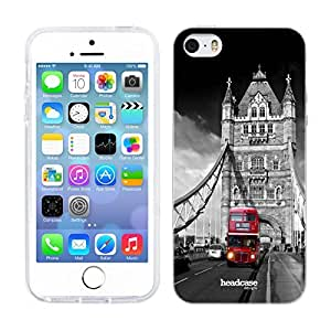 Head Case Designs London Bridge England Best of Places Gel Back Case Cover for Apple iPhone 5 5s