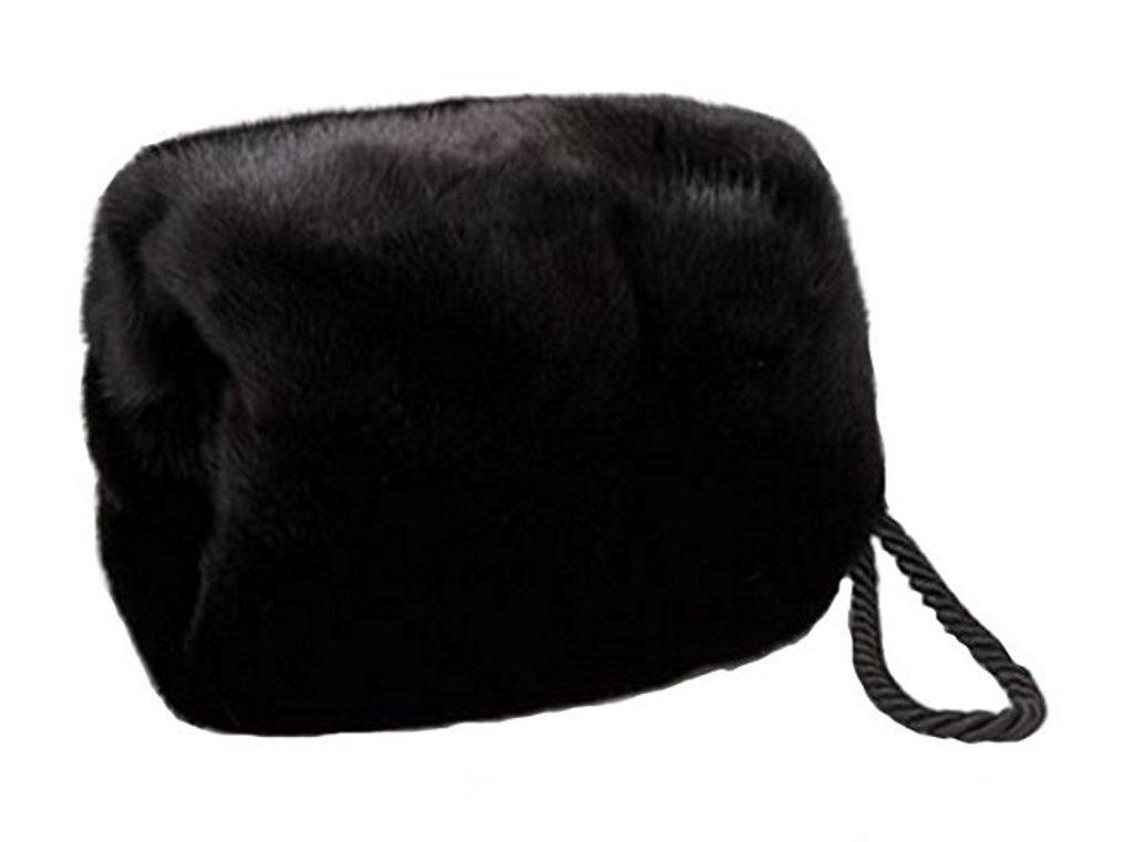 Women's Real Mink Fur Purse Hand Muff by Moda Furs