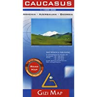 Caucasus Road Map Armenia Azerbaijan Georgia 2019