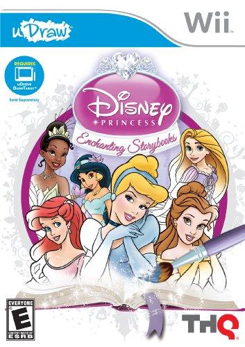 uDraw Disney Princess: Enchanting Storybooks - Nintendo Wii
