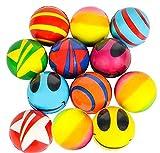 RI Novelty Stress Balls Bulk Value Assortment (50 Pack)