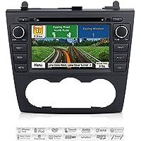 Aimtom 2007-2012 Nissan Altima Indash GPS Car Navigation Displayer Deck 7 Inch Touch Screen AV Receiver Stereo Radio Head Unit Bluetooth DVD CD Multimedia Player Infotainment System w/ iGo Primo Maps