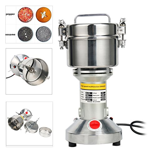 Seeds Flour Sesame (YaeTek 700g High Speed Electric Herb Grain Grinder Cereal Mill Flour Powder Machine)