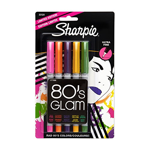 sharpie-ultra-fine-point-permanent-markers-5-pack-limited-edition-colored-markers-33120
