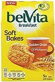 Belvita Soft Bakes Golden Grain Breakfast Biscuits 250 g (Pack of 6)