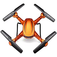Owill JJRC H12CH Headless Mode One Key Return RC Quadcopter With 5MP HD Camera/Long Control Distance (Orange)