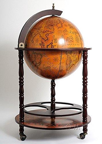 Globe Drinks Cabinet Floor Standard by Old Modern Handicrafts