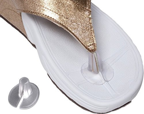 3 Pairs Silicone Gel Sandal Flip Flops Thong Toe Protector Guards Cushions ()