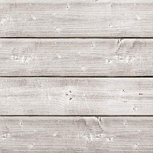 Synergy Media - Jillibean Soup Mix The Media Wooden Plank-12x12 Weathered White