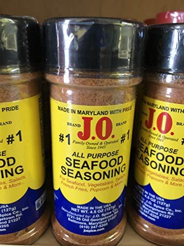 J.O. Spice #1 Seafood seasoning Maryland USA j o 4.5 oz ()