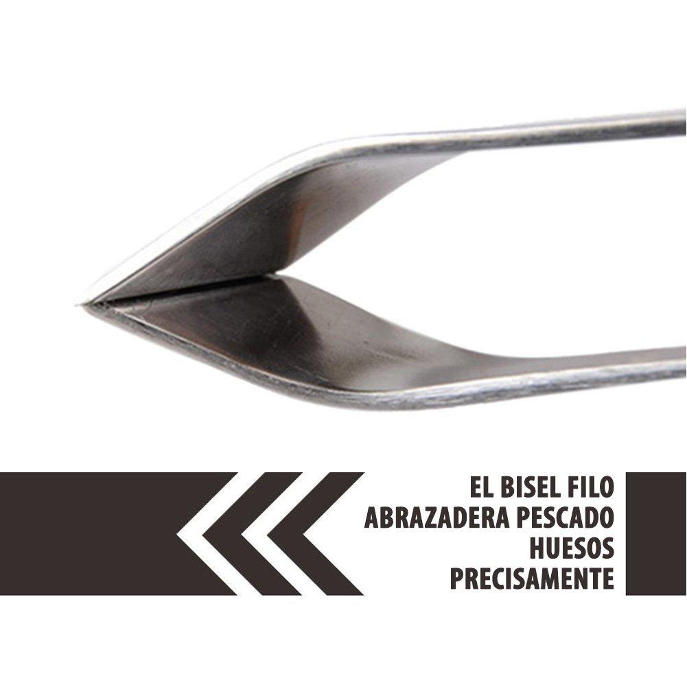 Amazon.com: Pinza de Hueso de Pescado Removedoras de Espinas de Pescado, Hechas de Acero Inoxidable Resistente para Remover Espinas Fácilmente y con ...
