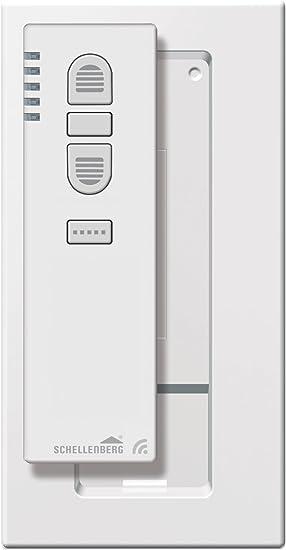 Fernbedienung Licht Steckdose Rolladensteuerung Schellenberg 20020 Smart Home Funk-Handsender 5-Kanal mit 868,4 MHz schwarz