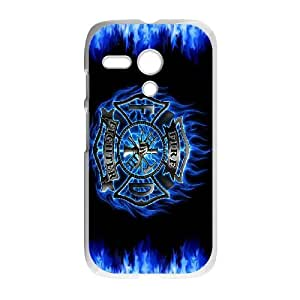 Motorola Moto G Phone Case Firefighter Emblem EX93570