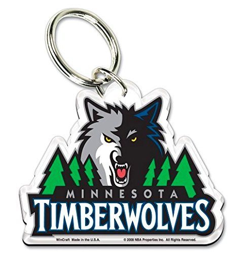 fan products of NBA Official Minnesota Timberwolves Premium Acrylic Key Ring