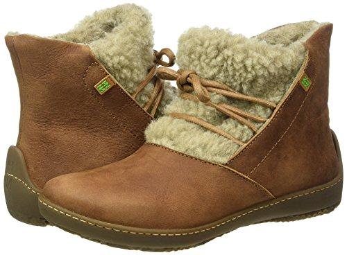 Nd17 Derby Zelanda Cordones Naturalista Mujer Wood El Zapatos Denia de Lana para Bee Marrón 5zqnaxUHn