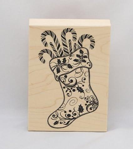 Inkadinkado Ek Success Wood Stamp Easter Basket