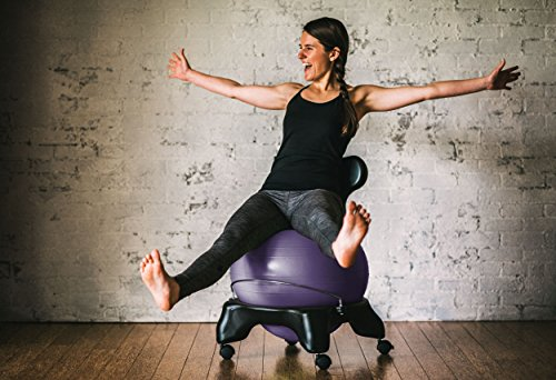 Gaiam-Balance-Ball-Chair-Classic-Yoga-Ball-Chair-with-52cm-Stability-Ball-Pump-Exercise-Guide-for-Home-or-Office