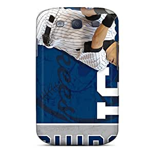 Awesome New York Yankees Flip Case With Fashion Design For Galaxy S3