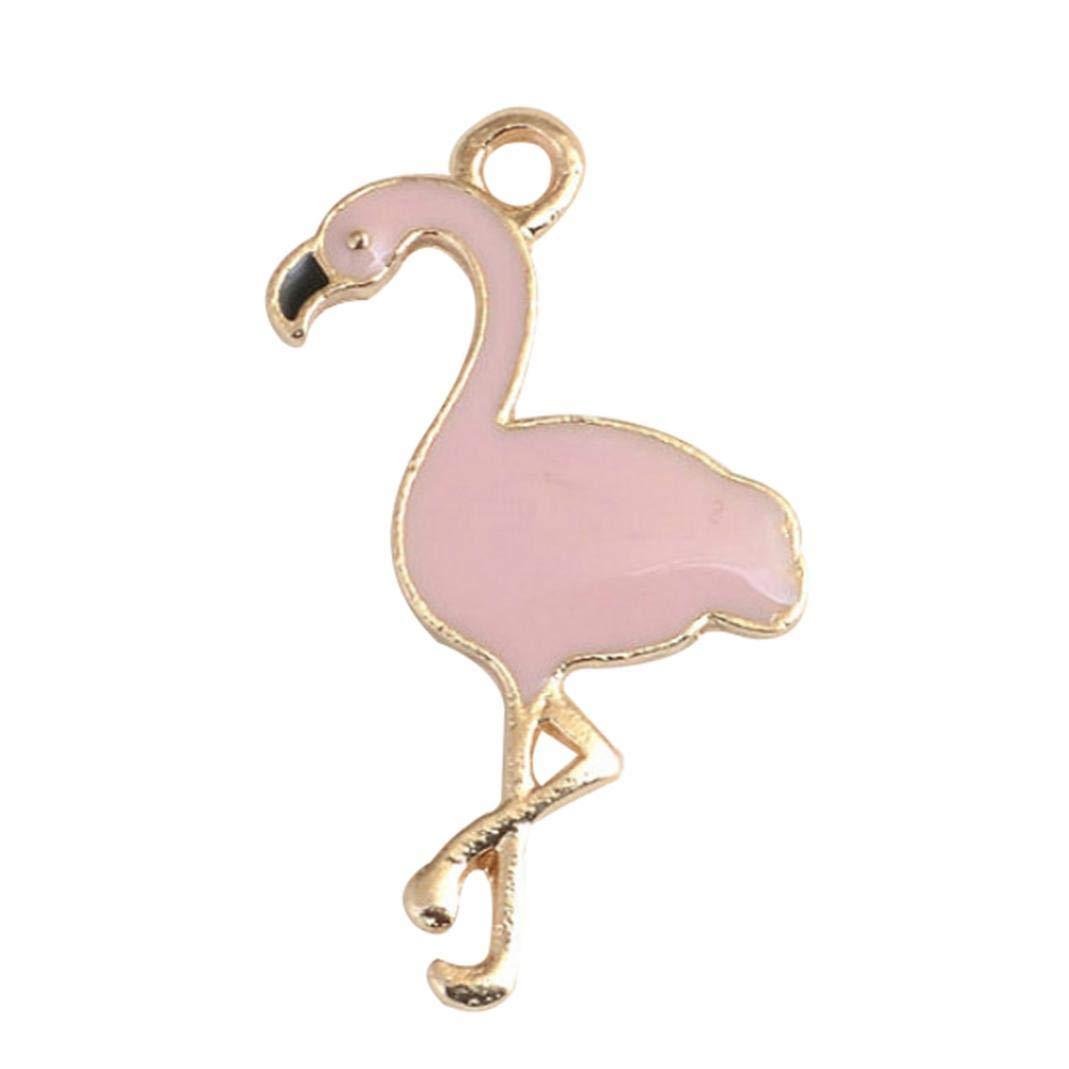 FEIDAjdzf Anhänger für Ohrringe, Halsketten, Schmuck, 5 Stück 5 Stück S rosarot
