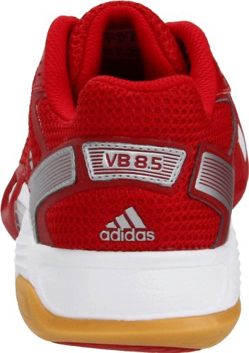 Adidas Kvinders Opticourt Vb 8,5 Volleyball Sko Universitet Rød / Metallisk Sølv / Løbe Hvid
