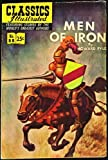 img - for Men Of Iron (Classics Illustrated comic #88) 1968 Reissue (HRN-166) book / textbook / text book