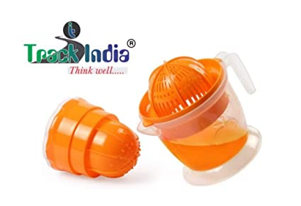 Trackindia Two in One Orange Juicer Hand Press Manual Juicer (Colour May Very)