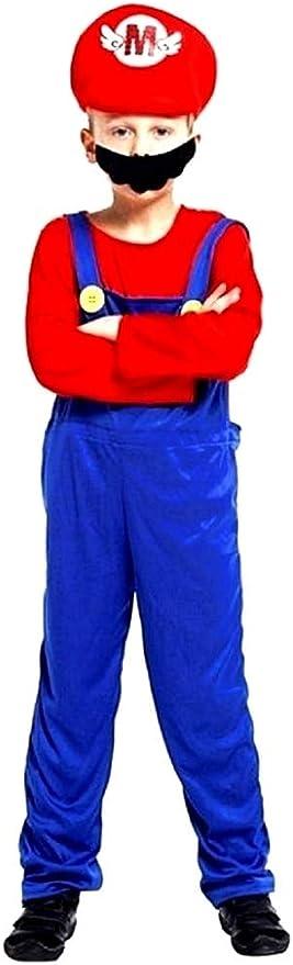 Vestido de Carnaval de Super Mario Bros Celebre Personaje ...