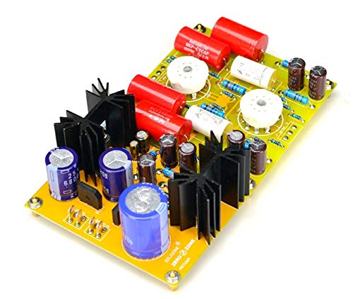 組み立てられたPRT06A 12AX7 + 12AT7チューブプリアンプボードMATISSE回路280Vベース