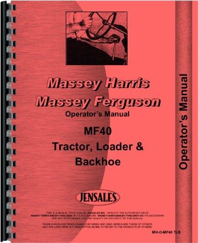 Massey Ferguson Backhoe - 1