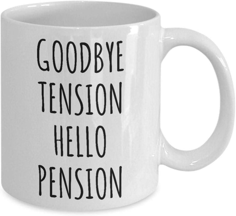 Regalo de jubilación para colega, jefe de trabajo, regalo para jubilado, padre, madre, marido, nuevo jubilado, fiesta de jubilación, divertida taza de café