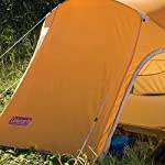 Coleman Hooligan Backpacking Tent 14 Sleeps 2 Main fly seams are factory taped Heavy duty 1000D polyethylene bathtub floor for extra durability and welded leak proof seams