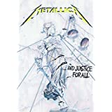 Metallica - Justice for All Music Fabric Poster Print, 30x40 Fabric Poster Print, 30x40
