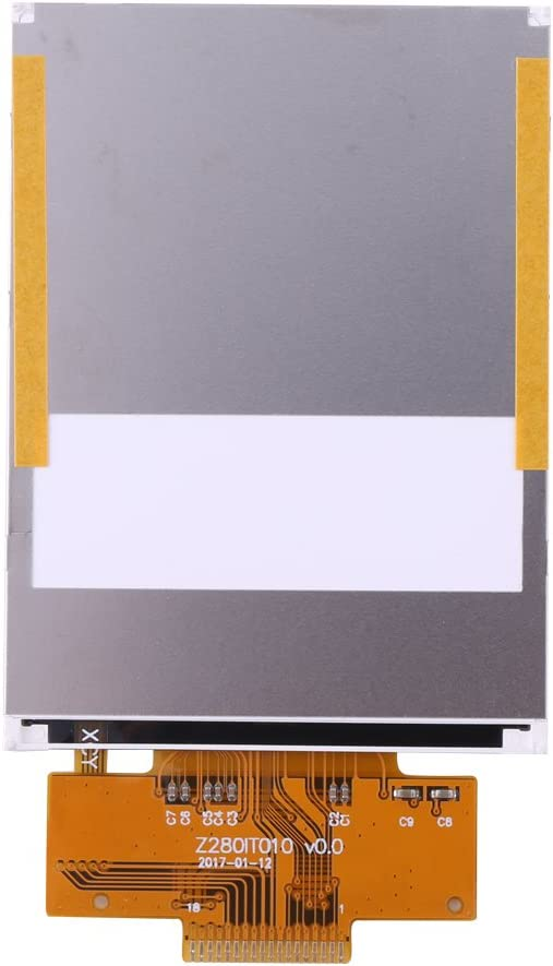 2.8 inch Serial 240320 SPI Color Aufee TFT LCD Module ,TFT LCD Panel ,TFT LCD Display Module, Display Module, LCD Modules,SPI Color TFT LCD Module