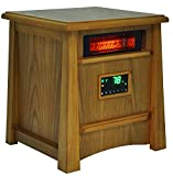 LifePro LifeSmart LS-8WIQH XLarge Room Portable 8 Element Infrared Quartz Heater