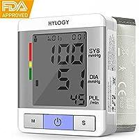 Hylogy Misuratore di Pressione da Polso Digitale Automatico 2×90 Memorie di Dati per 2 Utenti Usare