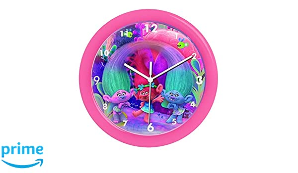 Amazon.com: Childrens Wall Clock, Trolls|Poppy Wall Clock, Officially Licensed,Brand: Home & Kitchen