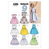 Butterick Patterns B3350 Children's/Girls' Dress, Size 6-7-8