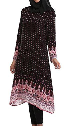 arab black dress - 6