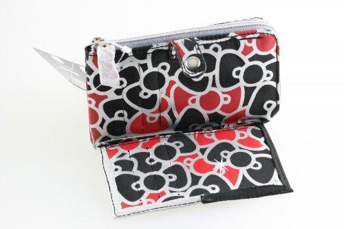 hello Kitty Bacio Strass gel borsa portafoglio di soldi borsa Glitter 14 centimetri