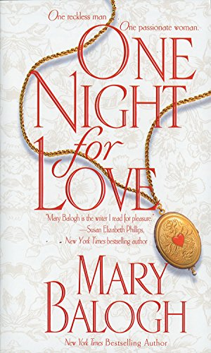 book cover of One Night for Love