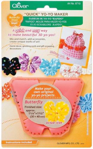 Quick Yo-Yo Maker-Butterfly 1-1/4x1-1/2